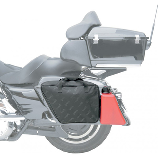 SADDLEMEN Liner Polyester Saddlebag Gas Can für Harley Touring 93-12 Tour Pak