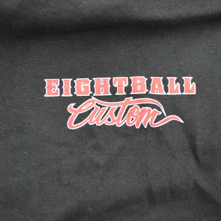 Eightball-Custom® T-Shirt Classic in schwarz für Harley & Custom Fans L